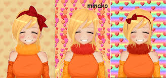 minako dolldivine anime birthday card maker by janiska88 on