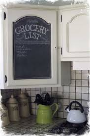 Painted Kitchen Cabinet Ideas Best 25 Chalkboard Paint Kitchen Ideas Only On Pinterest