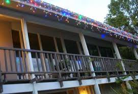 How To Hang Patio Lights How To Wrap Trees With Outdoor Lights