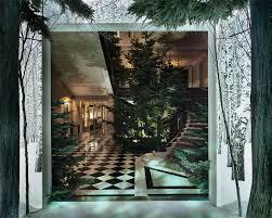 here u0027s what a jony ive and marc newson christmas tree looks like