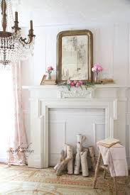 obsessions u0026 a simple mantel styling french country cottage