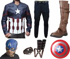 captain america jacket civil war costume stylish