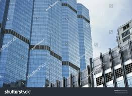 perspective building view textured background modern stock photo