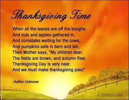 happy thanksgiving poems prayer happy thanksgiving