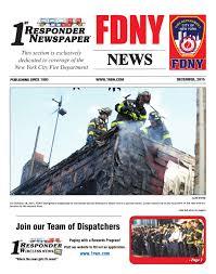 1st responder news fdny december edition by joseph belsito issuu