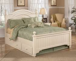 ashley storage bed signature design by ashley cottage retreat full poster bed with
