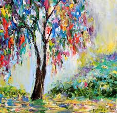 Paint Colorful - karen tarlton original oil painting
