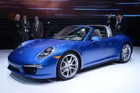 2014 porsche 911 targa revealed at 2014 detroit auto show