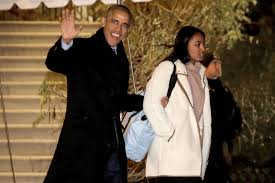 obama spends vacation with daughters in u0027escape room u0027 new york post