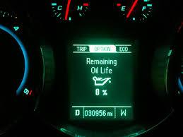 chevy cruze engine light cruze diesel oil change diy