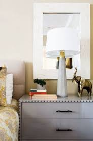 how high to hang art awesome mirrors above nightstands beautiful home design ideas with