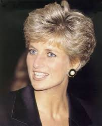 get princess diana s style by keeping the majority of your hair a