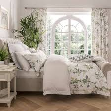 Dunelm Mill Duvets Dorma Botanical Garden Digitally Printed 100 Cotton Duvet Cover