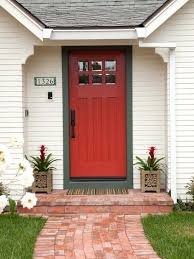 Out Swing Exterior Door Out Swing Exterior Door Small Traditional White One Story Wood