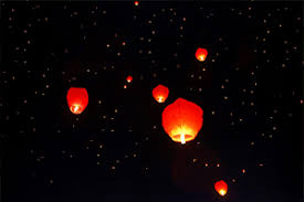 lanterne chinoise mariage lanternes boules lions papier pour mariage à prix