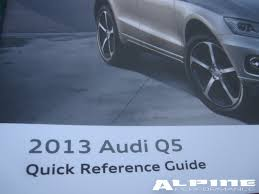 origianal audi q5 owners manual set books case manuals guide owner