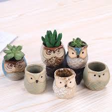 Indoor Plant Vases Discount Owl Vases 2017 Owl Vases On Sale At Dhgate Com