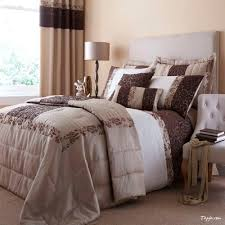 bedroom curtain and bedding sets bedroom earthy toned bedroom interior with cream and brown