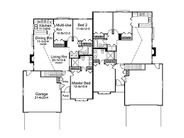 mediterranean multi family house plan only then