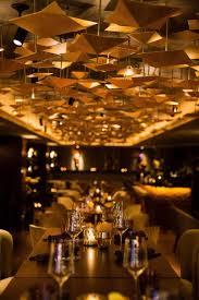 the stunning interior design of the luxury restaurant nikkei nine