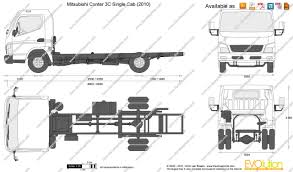 mitsubishi truck 2000 the blueprints com vector drawing mitsubishi canter 3c single cab