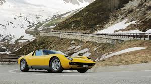fastest lamborghini ever made is the lamborghini miura the most beautiful car ever the drive
