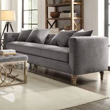 gray chesterfield sofa chesterfield sofas joss