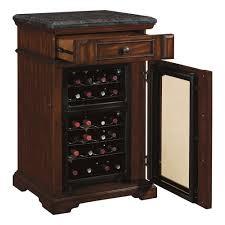 wine cooler cabinet furniture tresanti amalfi dual zone wine cabinet and cooler www kotulas com
