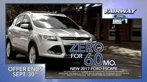 Ford Escape Suv - suv season ford escape sale youtube