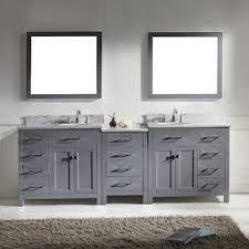 Grey Bathroom Vanity by Vanities For Bathroom On Lowes Bathroom Vanity With Trend Gray