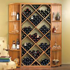 solid wood wine rack astounding kitchen and dining room decoration