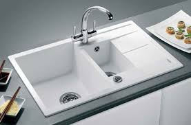 Dream Kitchens Selection Of Inset  Undermount Silgranite - Blanco silgranit kitchen sink