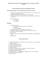 App For Anatomy And Physiology Question Bank For Human Anatomy And Physiology I Year B Pharmacy