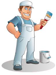 paint man beauty and the brush homer glen