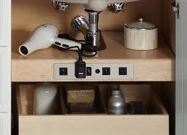 Kohler Bathroom Sinks And Vanities by Clever Kohler Tailored Vanity Electrical Outlet Shelf
