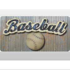 baseball sports quote wall stickers saying decal boys room baby vinyl wall saying quote stickers for kids rooms