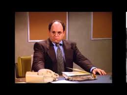 George Costanza Under Desk Seinfeld George Constanza Does Nothing Youtube