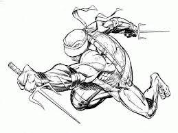 preschool teenage mutant ninja turtles coloring pages printable