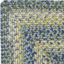 Blue And Green Outdoor Rug Aegean Sea Braided Rug An Ultra Durable Outdoor Rug