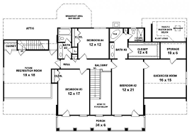 style house floor plans le georgian home plan 020s 0002 house plans and more