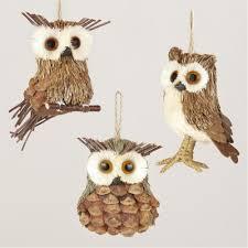 pinecone owls freaking decor