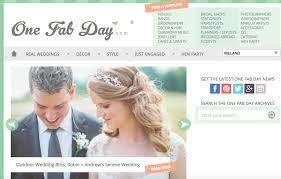 best wedding gift registry websites top 10 wedding blogs donal doherty wedding