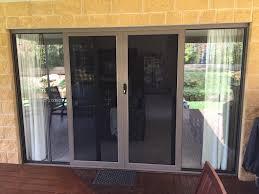 Custom Size Exterior Doors Tru Frame Sliding Security Screen Door Custom Size Doors Exterior