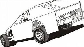 coloring pages sprint cars image collection