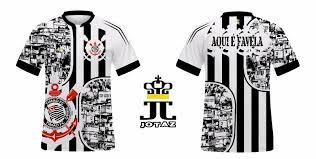Excepcional camiseta camisa do corinthians personalizada - JOTAZ &EI84