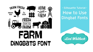 how to use home design studio how to use dingbat fonts in silhouette studio youtube