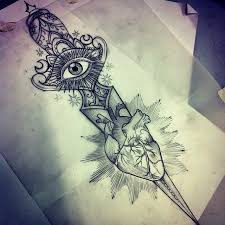 97 best dagger draws tattoos images on pinterest drawing