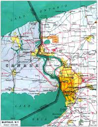 New York Central Railroad Map by Buffaloresearch Com Historic Maps Of Buffalo Erie