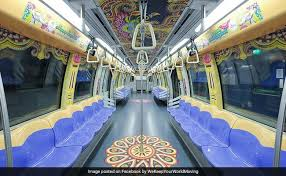 themed pictures diwali 2017 singapore s diwali themed trains are nothing of