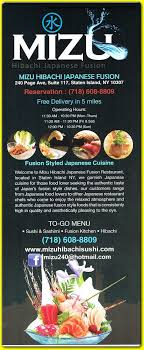 exemple am agement cuisine mizu japanese restaurant in tottenville staten island 10307 menus
